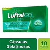 Luftal Gel Caps 125mg com 10 cápsulas