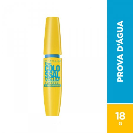 MAYBELLINE VOLUME EXPRESS COLOSSAL MASCARA PARA CILOS PROVA D AGUA
