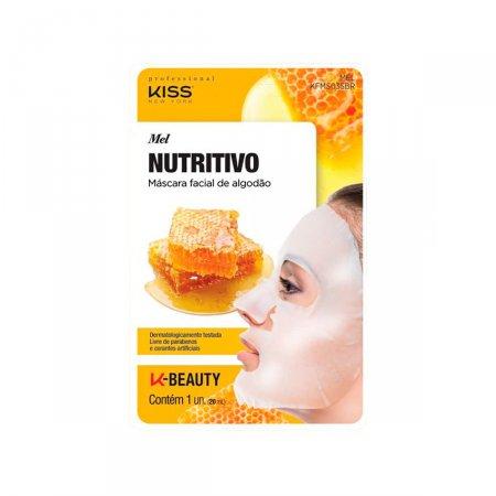 Máscara Facial de Algodão KIss NY Mel Nutritivo 1 Unidade |