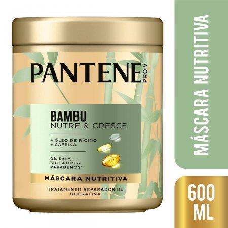 PANTENE MASCARA INTENSIVA BAMBU 600ML