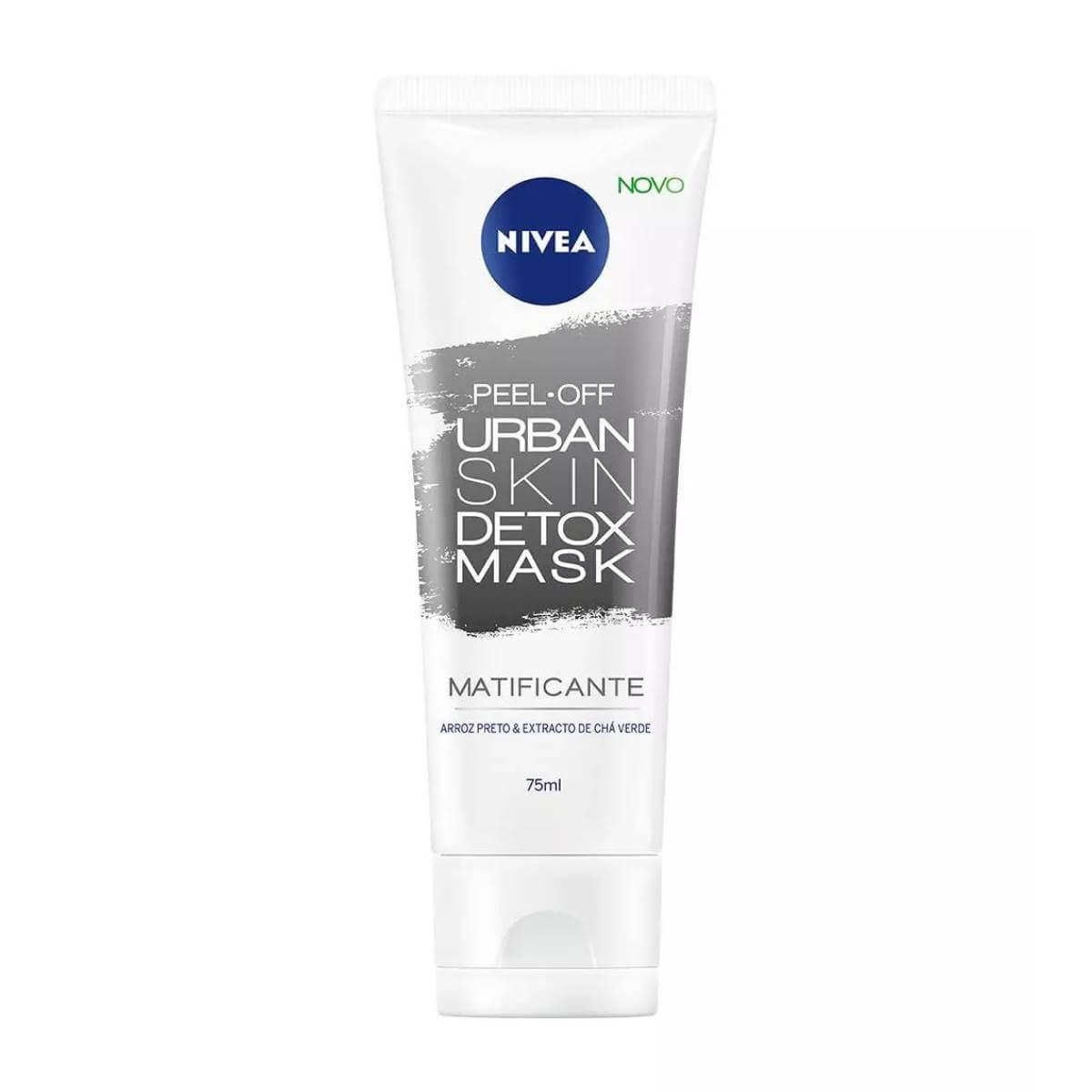 Máscara Facial Matificante Nivea Urban Skin Detox Mask com 76g 76g