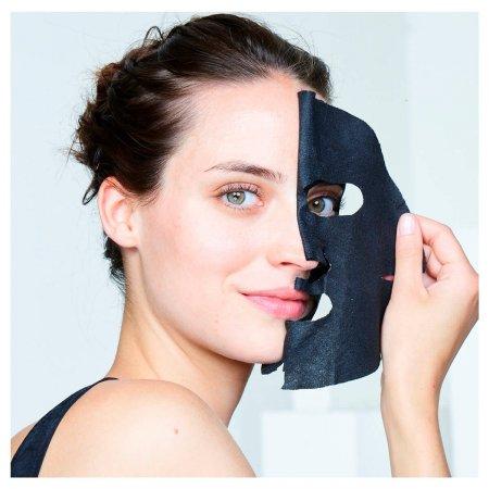 Máscara Negra Facial Purificante Garnier SkinActive Carvão Puro 28g | Drogasil.com Foto 3