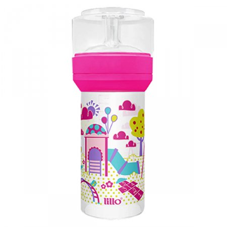 LILLO MAMADEIRA SUPER DIVERTIDA SIL 260ML ROSA
