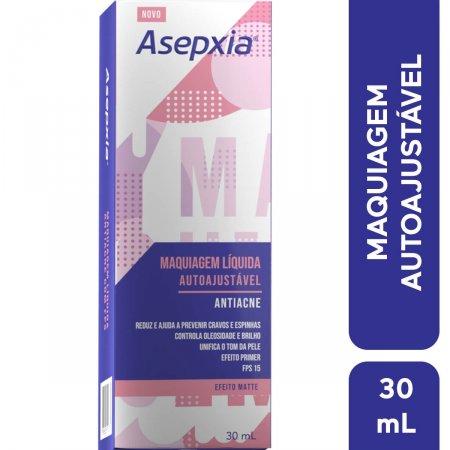 Maquiagem Líquida Asepxia Autoajustável