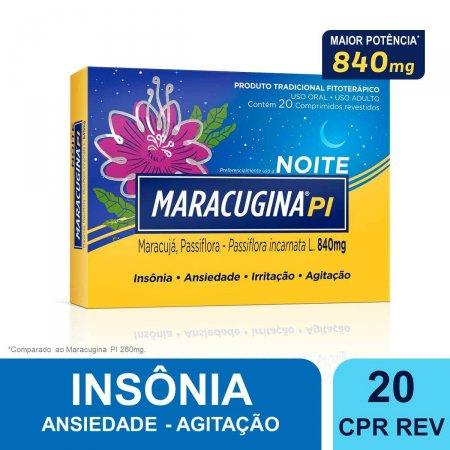 Maracugina PI 840mg Noite com 20 comprimidos