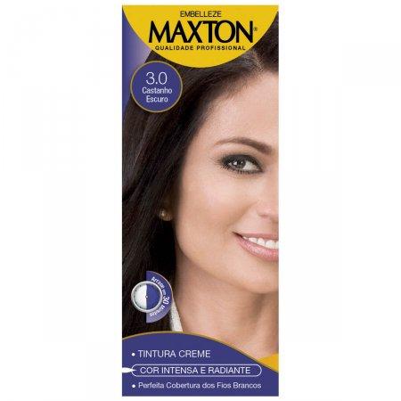 Kit Coloração Maxton Castanho Escuro 3.0