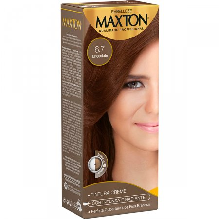 Kit Coloração Maxton Chocolate 6.7