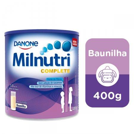 MILNUTRI COMPLETE BAUNILHA 400G