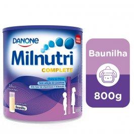 Suplemento Infantil Milnutri Complete Sabor Baunilha
