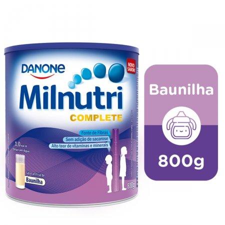 Suplemento Milnutri Complete Baunilha 800g