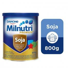 Pó para Preparo de Bebida Milnutri Premium Soja com 800g