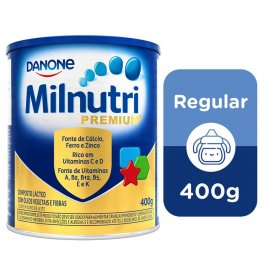 Composto Lácteo Danone Milnutri Premium com 400g