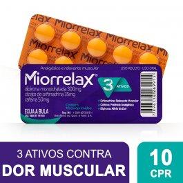 Miorrelax com 10 Comprimidos