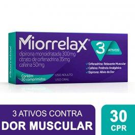 Miorrelax com 30 Comprimidos