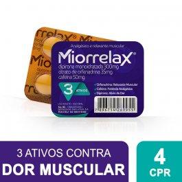 Miorrelax com 4 Comprimidos