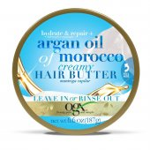 Manteiga Capilar Hidratante OGX Hair Butter Argan Oil of Morocco