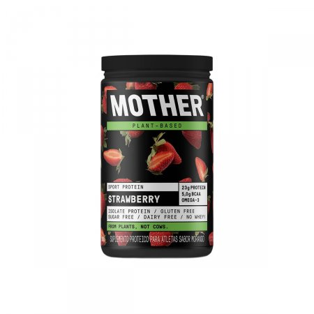 MOTHER SPORT PROTEIN MORANGO 527G