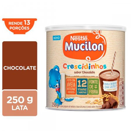 MUCILON CRESCIDINHOS CHOCOLATE 250G