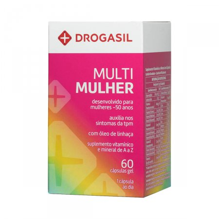 Suplemento Vitamínico Drogasil Multi Mulher