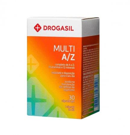 Multivitamínico A/Z Drogasil 30 Cápsulas | Drogasil.com