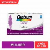 CENTRUM ESSENTIALS MULHER SUPLEMENTO VITAMINICO 30 COMPRIMIDOS