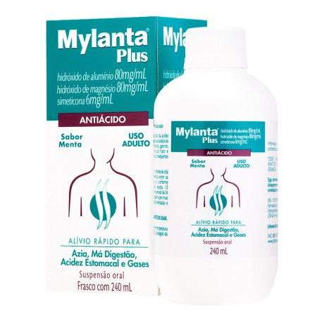 Mylanta Plus Sabor Menta
