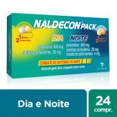 NALDECON PACK ANTI GRIPAL 24 COMPRIMIDOS