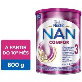Fórmula Infantil NAN Comfor 3 com 800g