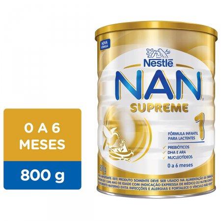NAN SUPREME 1 FORMULA INFANTIL 800G