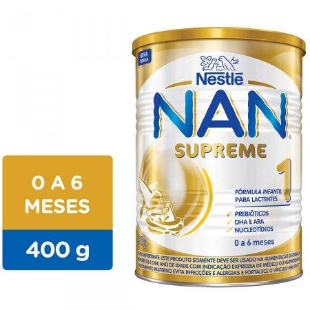 NAN SUPREME 1 FORMULA INFANTIL 400G