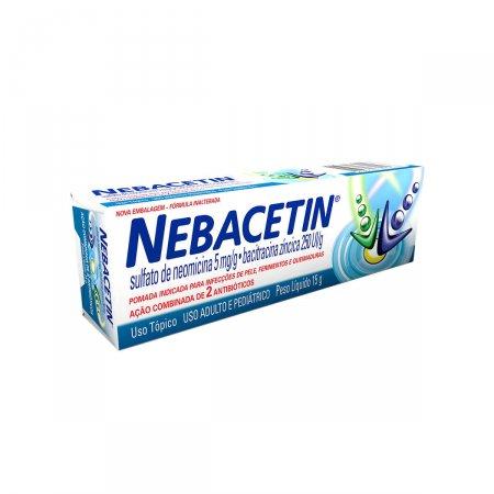 NEBACETIN POMADA 15 G