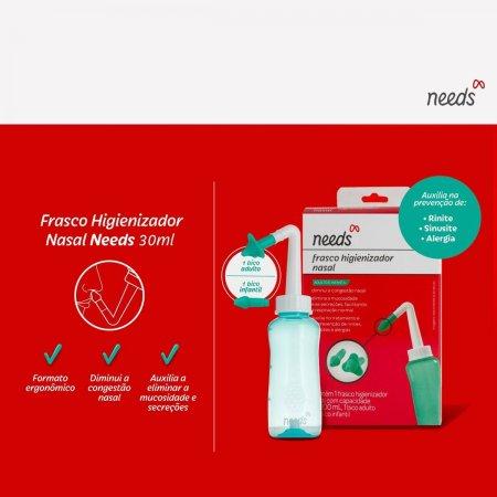 Kit 3 em 1 Needs Baby Shampoo + Colônia + Sabonete em Barra