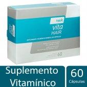 Suplemento Vitamínico Needs Vita Hair Cabelos e Unhas com 60 cápsulas