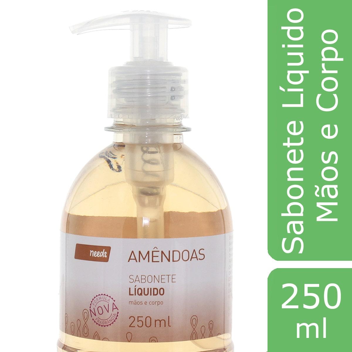 Sabonete Líquido Needs Amêndoas 250ml