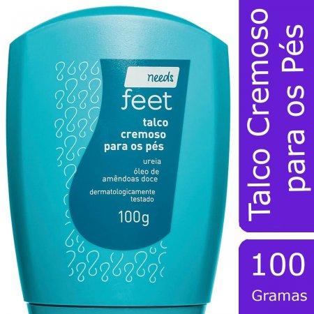 NEEDS FEET TALCO CREMOSO PARA OS PES 100G