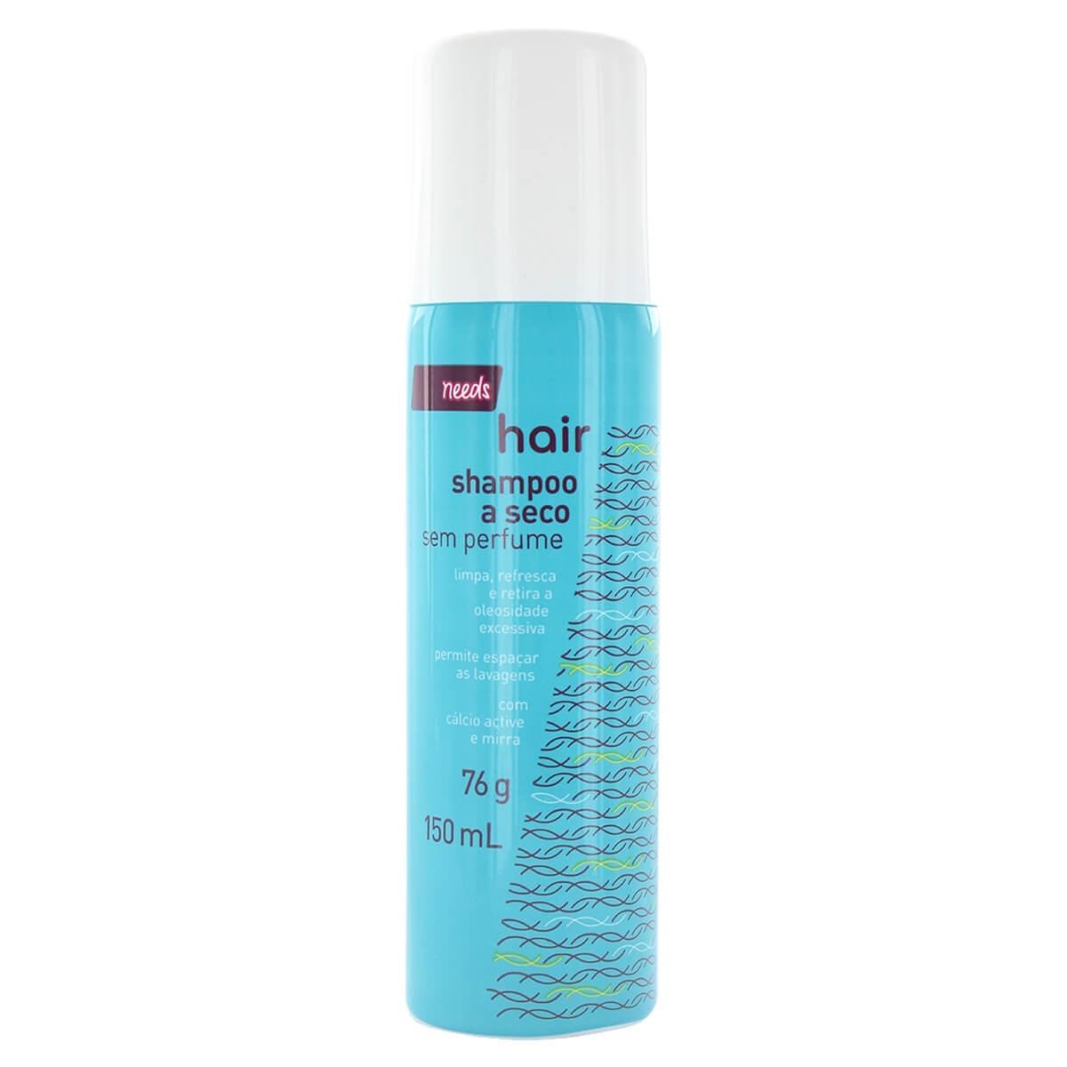 Shampoo a Seco Needs Sem Perfume com 150ml 150ml