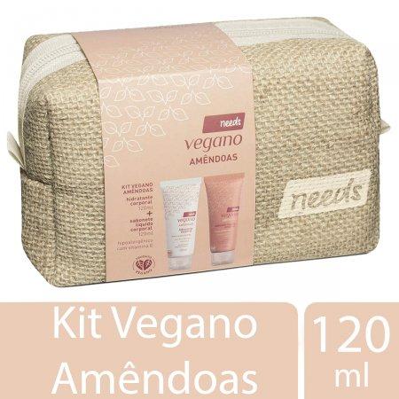 Kit Corporal Needs Vegano Amêndoas