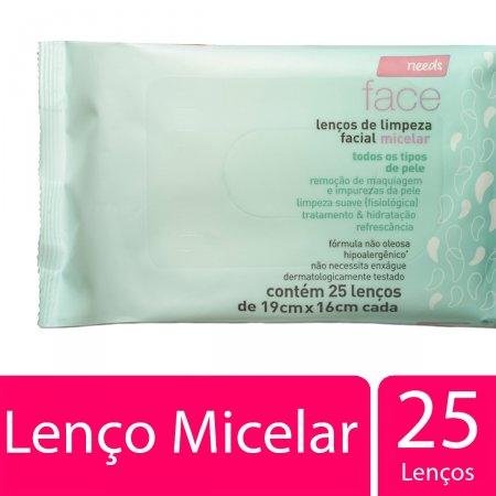 NEEDS LENCOS DE LIMPEZA FACIAL MICELAR