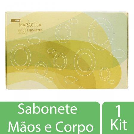 Kit de Sabonetes Needs Maracujá