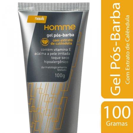 Gel Pós-Barba Needs Homme 100g | Drogaraia.com Foto 2