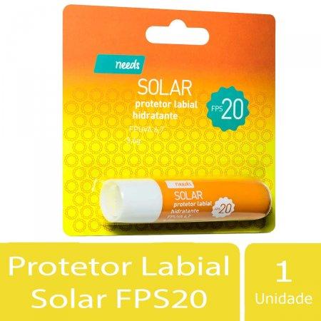 Needs Solar Protetor Labial Hidratante FPS20 3,6g | Drogasil.com Foto 2