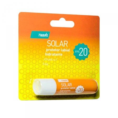 Needs Solar Protetor Labial Hidratante FPS20 3,6g   Drogasil.com Foto1