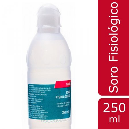 Soro Fisiológico 250ml Solução Needs | Drogasil.com Foto 2