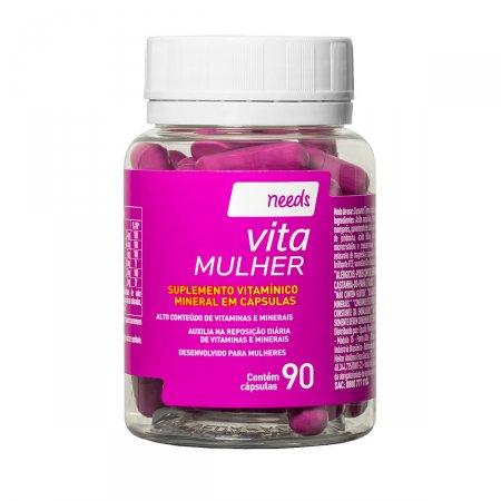 Suplemento Needs Vita Mulher