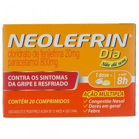 NEOLEFRIN DIA COM 20 COMPRIMIDOS
