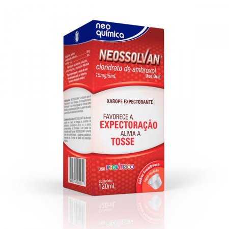 NEOSSOLVAN 15MG/5ML XAROPE PEDIATRICO 120 ML + COPO DOSADOR