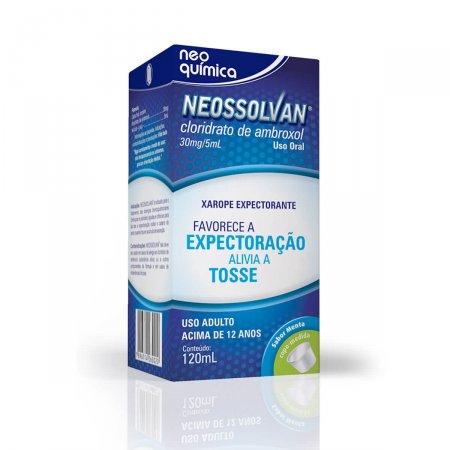 NEOSSOLVAN 30MG/5ML XAROPE ADULTO 120 ML + COPO DOSADOR