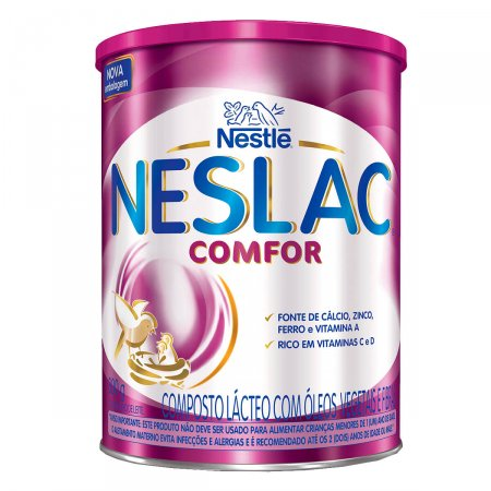 Composto Lácteo Neslac Comfor 800 gramas   Drogasil foto 2