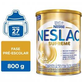Composto Lácteo Neslac Supreme com 800g
