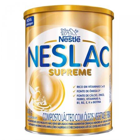 Composto Lácteo Neslac Supreme 800g | Drogasil  Foto 1